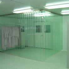 esd antistatic soft clear pvc industrial plastic roll curtain