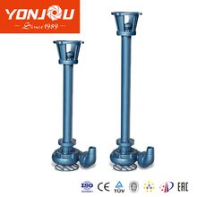 Vertical Non-Clogging submersible Slurry Pump, solid slurry pump, Centrifugal vertical slurry pump