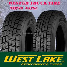 Famous China tyre offering Westlake/Goodride winter truck tire ND783 NS785 axle and driving wheel 315/80R22.8 315/70R22.5