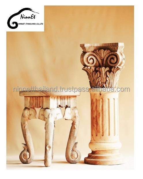 wood carving home decoration from Thailand