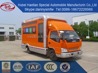 High Quality Custom Mobile Tricycle Truck/ Electric Food Truck/ Frozen Food Truck for sale