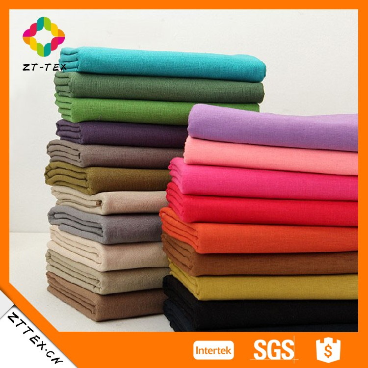 Wholesale satin Linen Cotton Fabric For Bed Sheet Cover Cotton Bedding