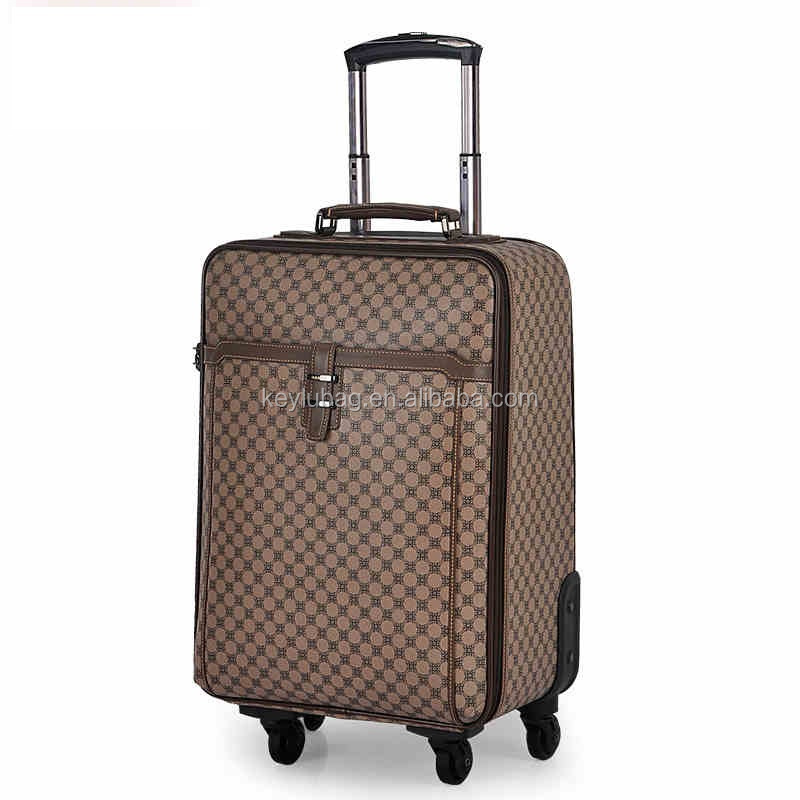 Factory wholesale new fashion bussiness trolly travel suitcase comfortable luggage