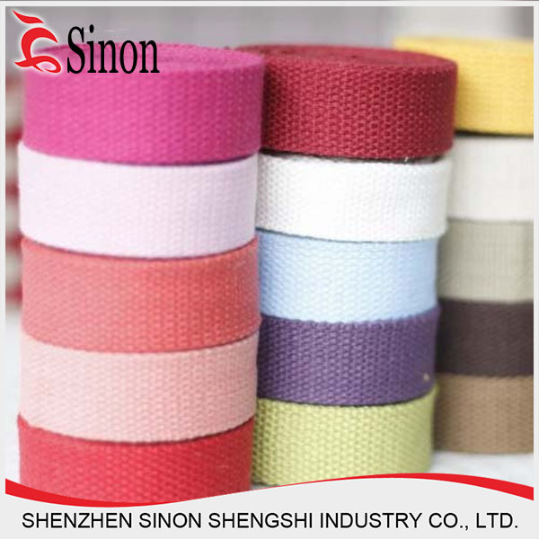 Polyester Woven Elastic Tape, Different Sizes/color are available