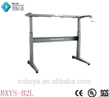 Plastic modern hydraulic lift desk for wholesales