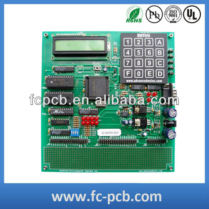 touch LCD display pcba for GPS machine