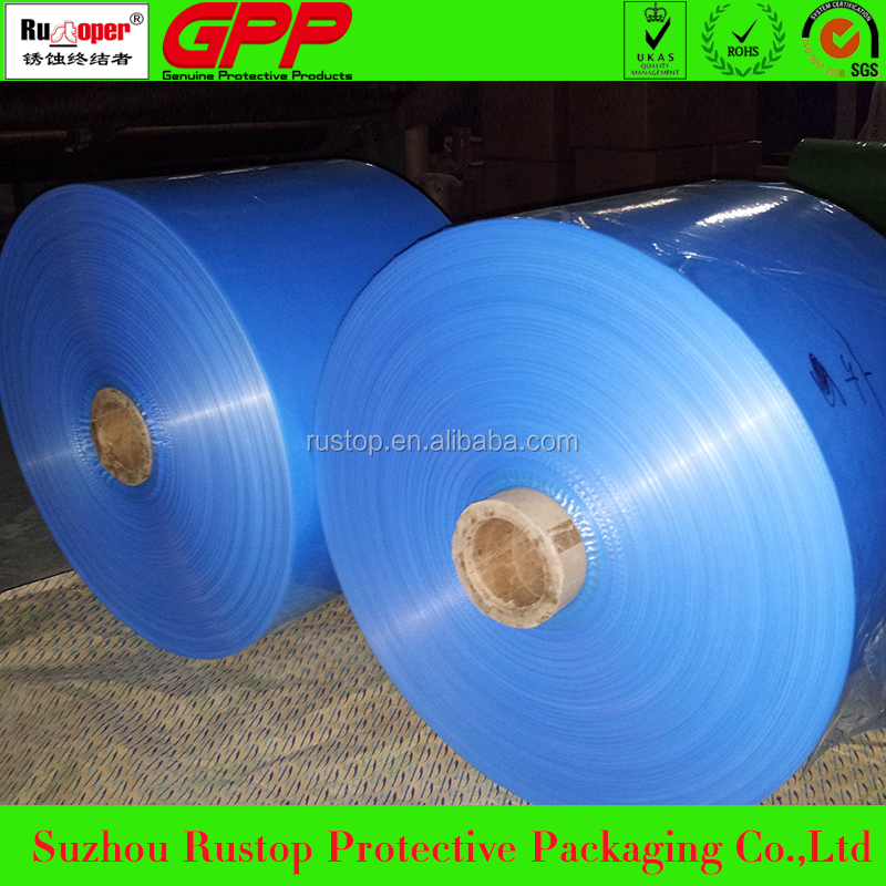 Suzhou VCI anticorrosive plastic film with different size