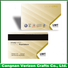 High Classic Offset printing Plastic Card PVC Card for promotion with Credit card size