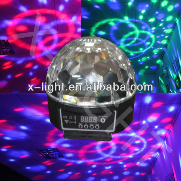 GALAXY MP3 player magic ball laser lighting/christmas light/disco light