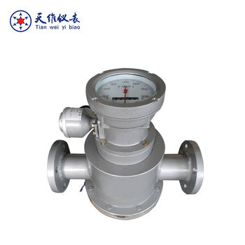 Stainless steel oval gear flowmeter