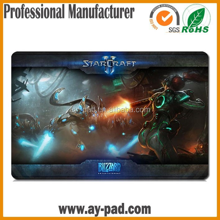 AY STARCRAFT Gaming Mouse Pads Yugioh Dark Magician Girl Figure Image Printing Custom Playmats Card Playmat