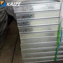 Metal building material steel stud channel drywall partition gi metal stud track sizes