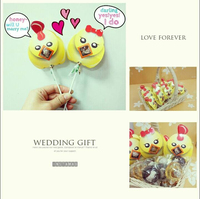 Creative Sweet Brown Sugar Lollipop Candy Wedding Gift Sets