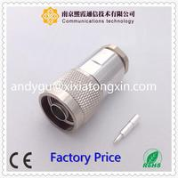High density F coaxial connector F miniature audio connector