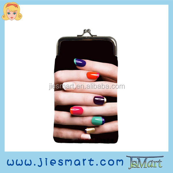 JIESMART cellphone bag change purse coin purse sublimation printing