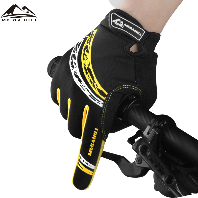 Factory Wholesale Custom Screen Touch Waterproof Sports Racing Bike Riding Bicycle Driving Cycling Gloves