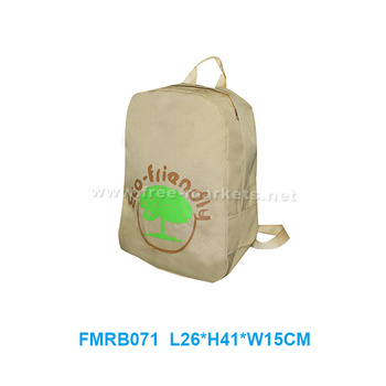 New fashion customized eco friendly recycled PET backpack for travelling