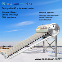Zilansolar Stainless Steel Solar Water Heater