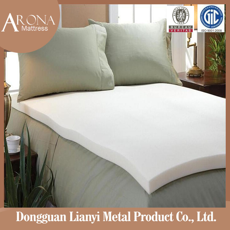 High Quality compressed mattress rollable travel memory foam massage mattress topper wholesale price