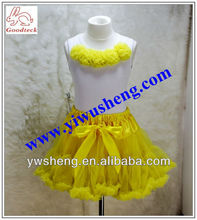 girl's clothing sets fashion baby pettiskirt sets cute and lovely tops with pettiskirt 2 pieces outfit
