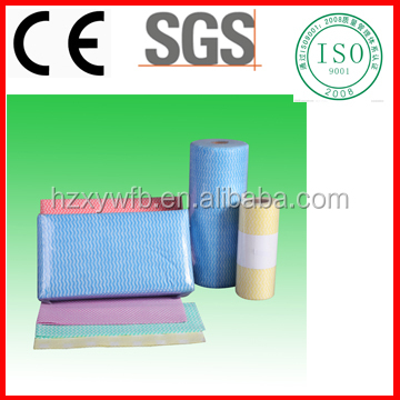 Spunlace Nonwoven Dry Disposable Cleaning Wipe