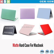 Matte Laptop Body Shell Protective Rubberized Hard Case for Macbook A1706 A1708 with/without Touch Bar Touch ID (2016 VERSION)