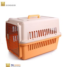 Travel Breathable Plastic Pet Dog Cages