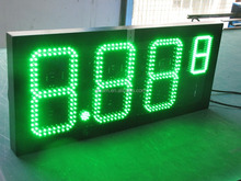 number 8 4 digit gas station led price advertisement sign/gas petrol price led sign