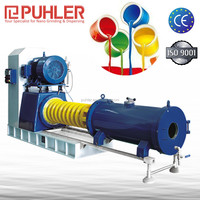 Puhler Heavy Duty Paint Milling Machine/ Bead Mill For Functional Ceramics , Coil Coatings