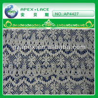 2013 new fashion lace tops knit lace fabric-AP4427