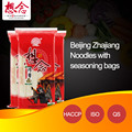Healthy Beijing Style Noodles with Seasoning Bags Brand