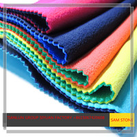 2017 Guangzhou Knitted Polyester Spandex Fabric Canton Fair Knit Fabric