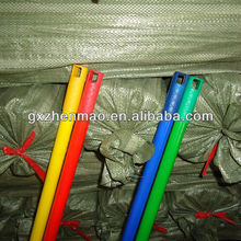 broom handle stick with pvc cover