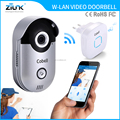 Wireless remote control door camera 720P 220V plug in wifi door bell ip intercom