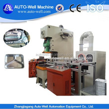 Full Automatic Pneumatic Disposable Aluminum Foil Food Container Production Line
