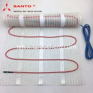 Melting snow floor heating mat