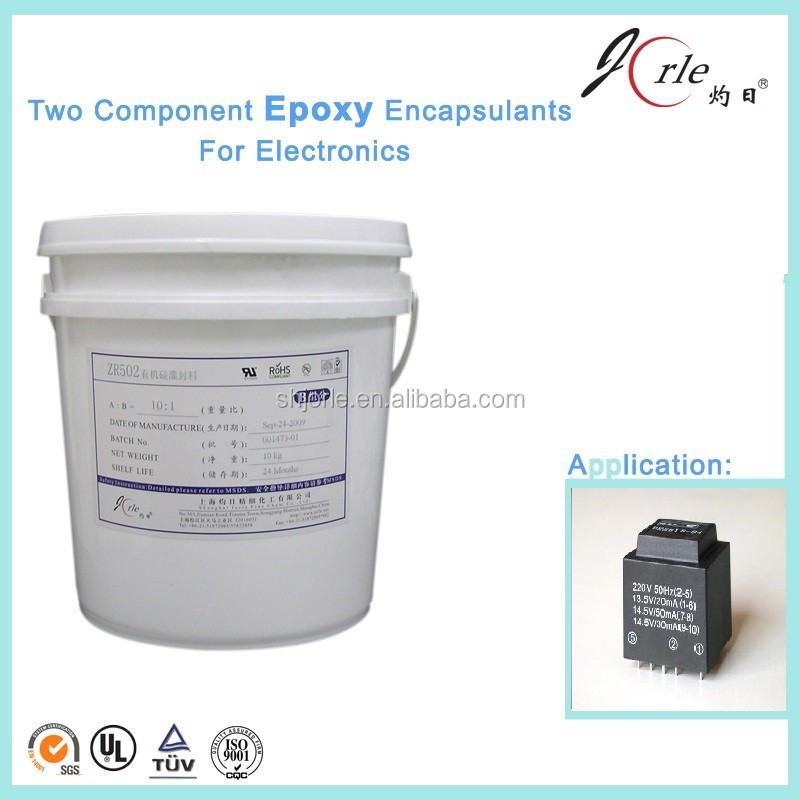 Epoxy RTV Curing 6v and 12v Transformer Potting Sealant