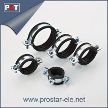 split pipe clamp with rubber