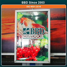 Assurance quality well standing bright picture frame led light box