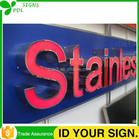 Large Outdoor Led Building Signs From