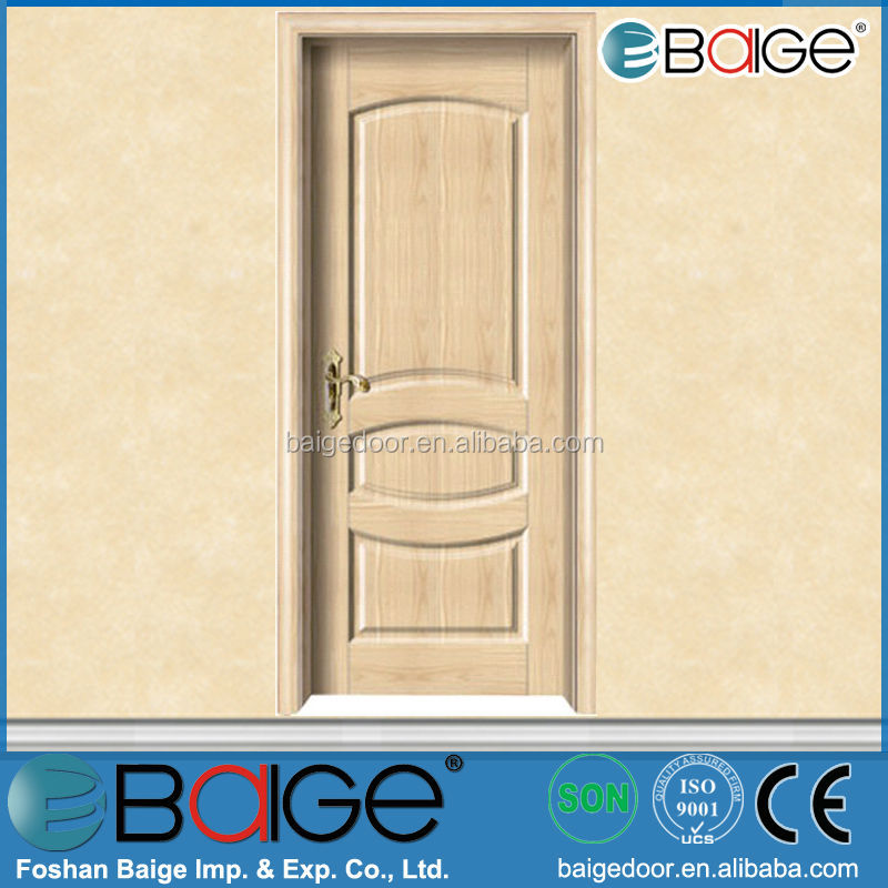 BG-MW9026 indian main wooden swing melamine door designs