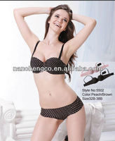 Fashion sweet girl underwear bra and panty sets