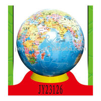 3D Puzzle DIY Toy 3D Puzzle ball (Globe)