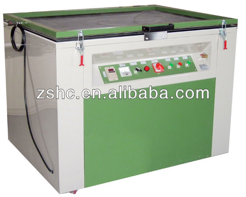 Single Vacuum Exposure Machine for Signs