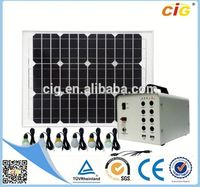 Passed SGS HOT Selling 200w solar power system