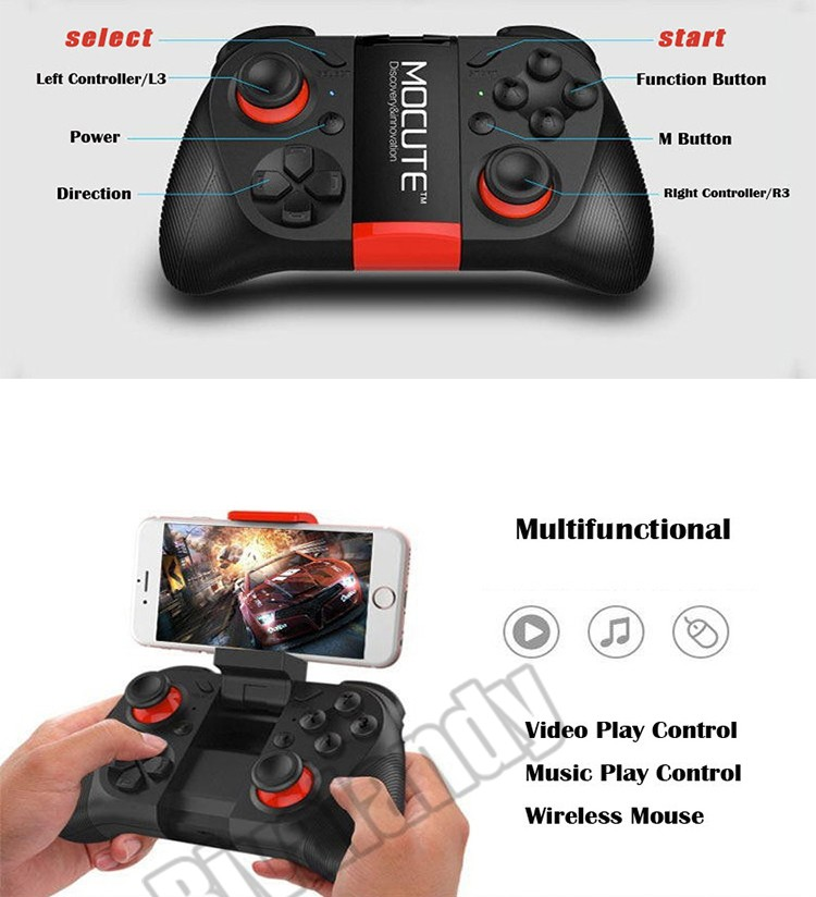 for ps4 joystick Mocute Bluetooth Gamepad for pc/android bluetooth gamepad