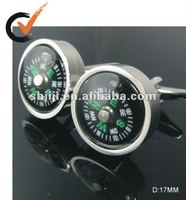 2012 Hot Sell Compass Jewelry Cufflink