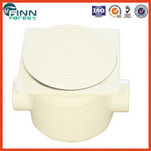 3/4'' connection EM2823 ABS white color ip65 plastic waterproof electrical junction box