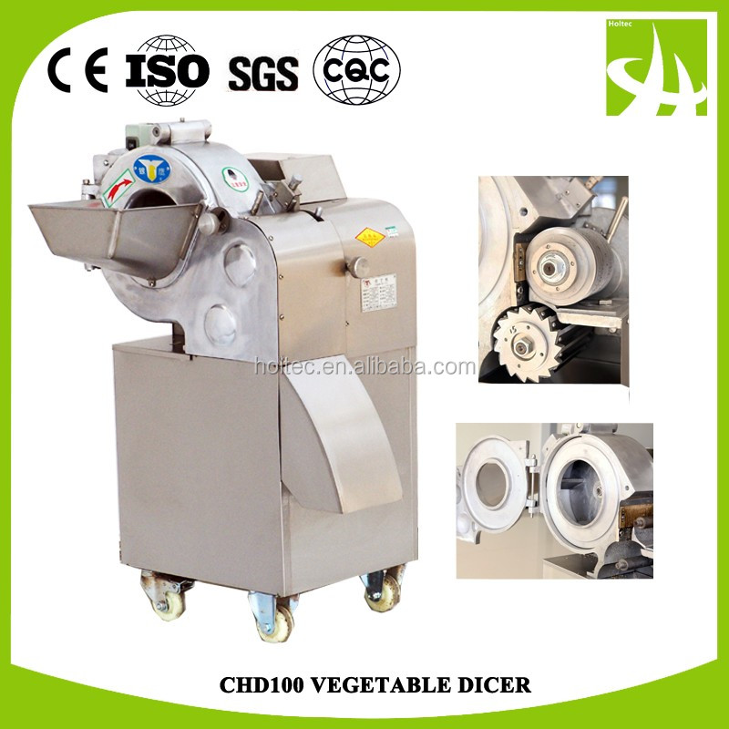 CHD100 Food processing machine/Multifunctional Vegetable And Fruit Cutter/Slicer/Dicer Machine,Vegetable cube cutting machine