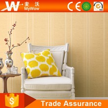 High Quality Waterproof Stripe Wall Paper for Interior Decorative